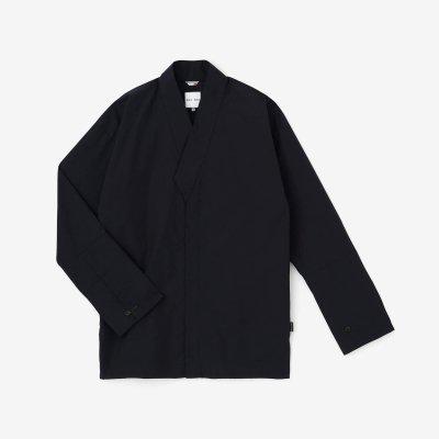 タイプライタークロス 筒袖襯衣(つつそでしんい)/濃紺(のうこん)