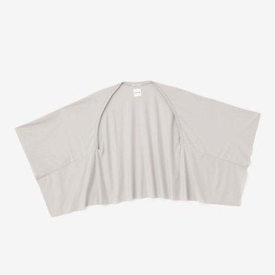 綿レーヨン むささび 短丈/絹鼠(きぬねず)