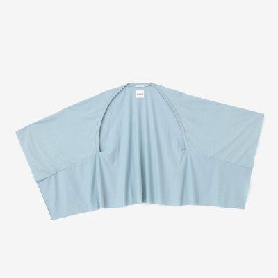 綿レーヨン むささび 短丈/淡水色(うすみずいろ)