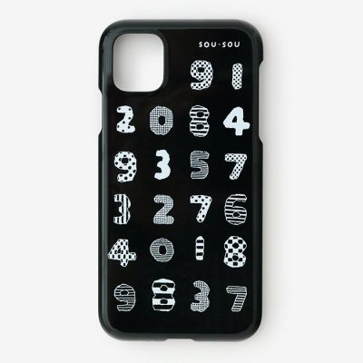 iPhone_11_Pro テキスタイルカバー/数遊び