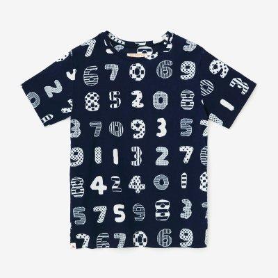 高島縮 40/40 半袖Tシャツ/数遊び(かずあそび)<img class='new_mark_img2' src='https://img.shop-pro.jp/img/new/icons55.gif' style='border:none;display:inline;margin:0px;padding:0px;width:auto;' />