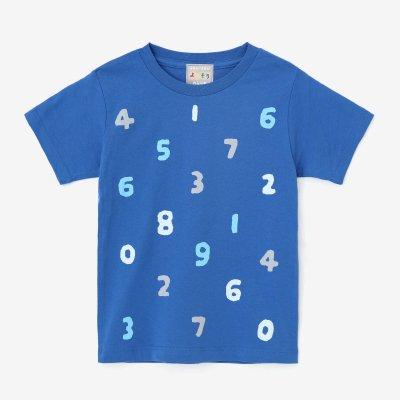 ●そすうみつみ はんそでTシャツ/あおいろ