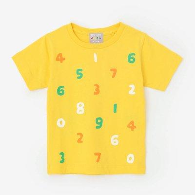 ●そすうみつみ はんそでTシャツ/きいろ