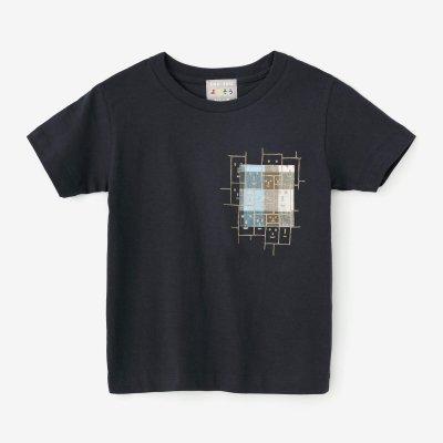 ●はんそでぽけっとTシャツ/こんいろ×えがお