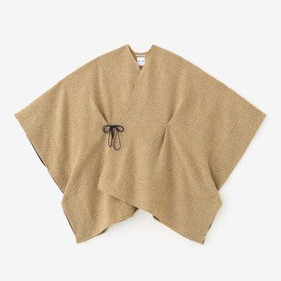 紡毛(ぼうもう) 菱小紋織(ひしこもん) きさらぎ/丁字茶(ちょうじちゃ)