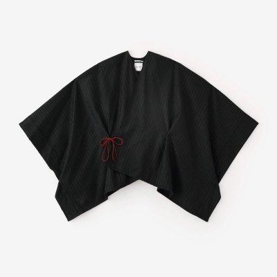【net限定】梳毛 きさらぎ 短丈/濡羽間道(ぬればかんとう)