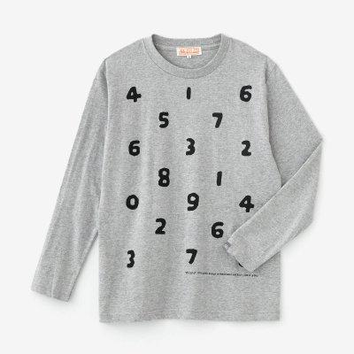 SO-SU-U 長袖Tシャツ2 [5.6]/ヘザーグレー