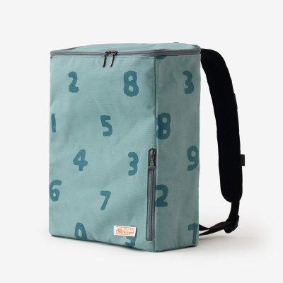 BOXバックパック/SO-SU-U 深川鼠(ふかがわねず)×青緑(あおみどり)