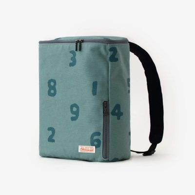 BOXバックパック 小/SO-SU-U 深川鼠(ふかがわねず)×青緑(あおみどり)