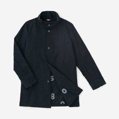 ベンタイル(R)オックス スタンドカラー ショートコート/深紺(しんこん)×SO-SU-U