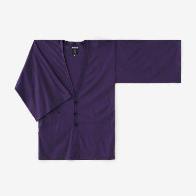 綿テンセル 両面編(りょうめんあみ) 伯爵風靡(はくしゃくふうび)/本紫(ほんむらさき)
