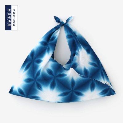 有松鳴海絞 小巾折/張正雪花4
