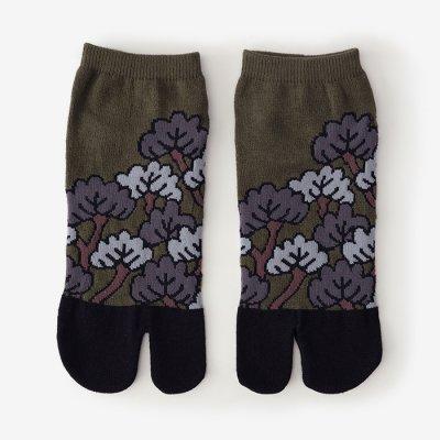 足袋下(踝丈)/松は松らしく 玉露 【男・女性用】