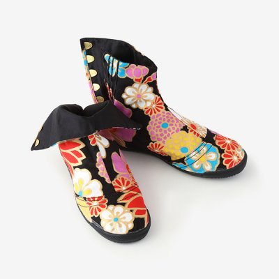 【net限定】先丸5枚足袋/金襴緞子(きんらんどんす)