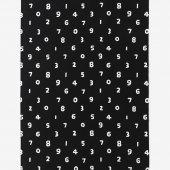 テキスタイル計り売り (21番手平織)/SO-SU-U 大 濡羽色(ぬればいろ)<50cm>