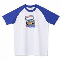 アイ・ラブ・フィリピン (I Love Philippines)ラグランTシャツ