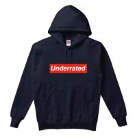 Underrated (過小評価) パーカ