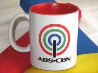 ABS-CBN オリジナルマグカップ (赤)