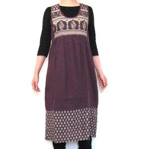 エスニックファッション・アジアンファッション  つぶつぶハートのチュニックワンピース/エスニックファッション・アジアンファッション・アウトレット