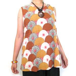 エスニックファッション・アジアンファッション  和アフリカンチュニック