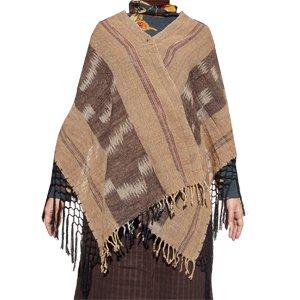 エスニックファッション・アジアンファッション イサーンコットンポンチョ