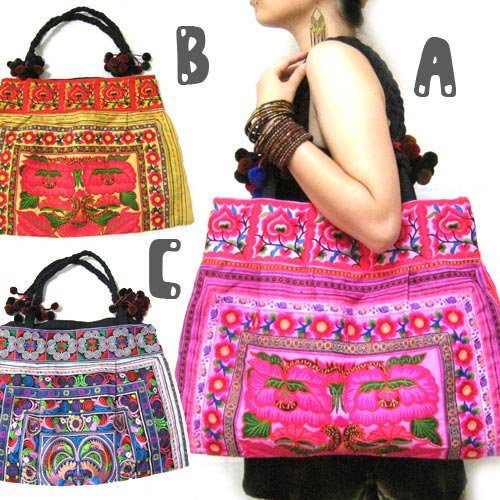 エスニックファッション・アジアンファッション チャイナモン族バッグ