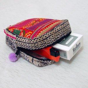 エスニックファッション・アジアンファッション  モン族シガレットケース