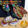 アフリカンスリッポンシューズ/エスニックファッション アジアンファッション アフリカン カンガ 靴 アウトレット セール