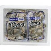 冷凍蒸し殻付かき大粒40個
