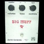 歪み系 エフェクター  electro-harmonix BIG MUFFπ