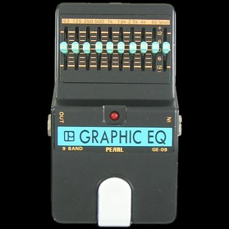 PEARL GRAPHIC EQ GE-09