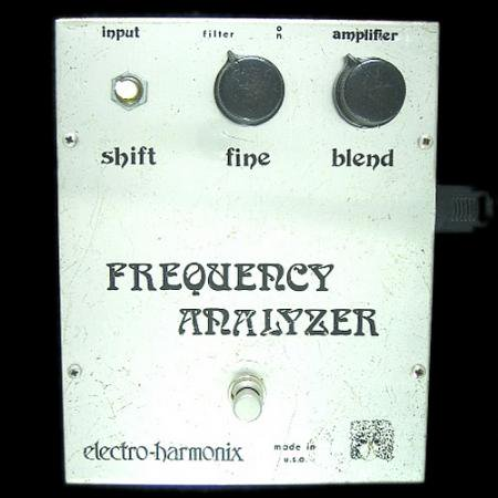 electro-harmonix FREQUENCY ANALYZER
