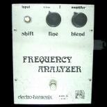 音程を変えるエフェクター  electro-harmonix FREQUENCY ANALYZER