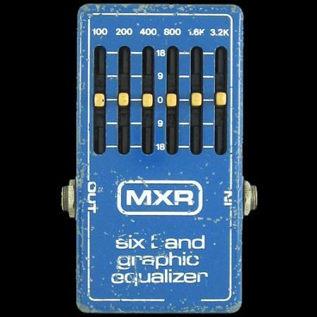 MXR six band graphic equalizer