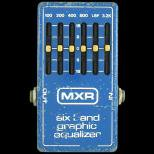 イコライザー  MXR six band graphic equalizer