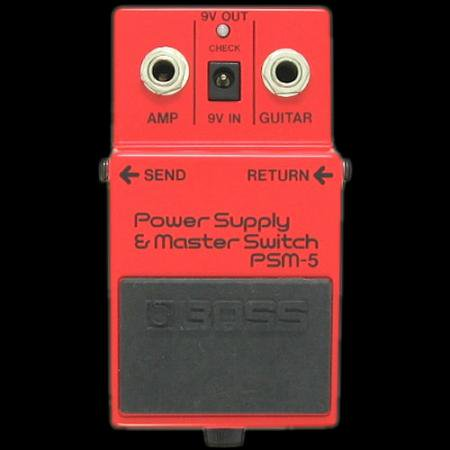 ギター関連商品  BOSS PSM-5 PowerSupply&MasterSwitch