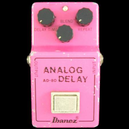 Ibanez ANALOG DELAY AD-80