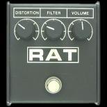 歪み系 エフェクター ディストーション Proco RAT�(RAT�併売期)