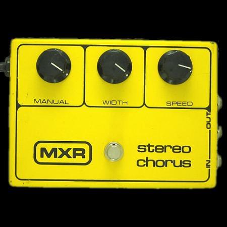 MXR stereo chorus (LEDなし)
