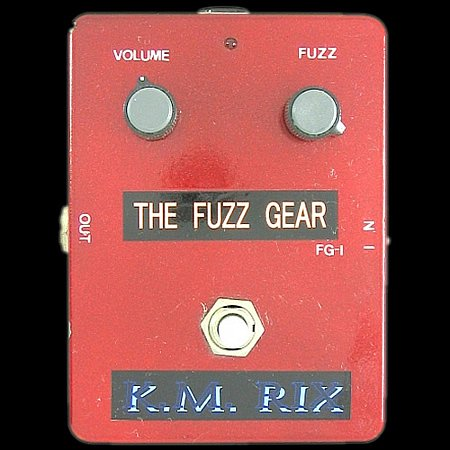 K.M. RIX THE FUZZ GEAR