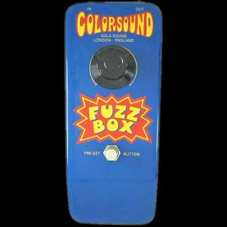 COLORSOUND Gary Hurst FUZZ BOX