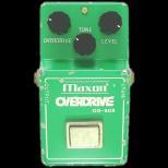 歪み系 エフェクター オーバードライブ Maxon OVERDRIVE OD-808