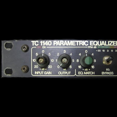 t.c.electronic TC1140 PARAMETRIC EQUALIZER/PREAMPLIFIER