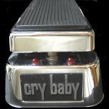 音色を変えるエフェクター ワウ Jim Dunlop cry baby 535?