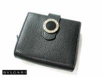 ブルガリ 2つ折財布 22263 ブラック BVLGARI B-ZERO