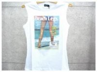 ドルチェ&ガッバーナ Tシャツ DOLCE&GABBANA - D&G ディー&ジー プリントタンクトップTシャツ SN0012 ホワイト ロゴ ドルガバ