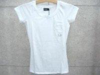 ドルチェ&ガッバーナ レディース DOLCE&GABBANA - D&G ディー&ジー Tシャツ ST0036 ホワイト ロゴポケット ドルガバ