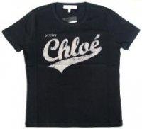 クロエ ロゴTシャツ L461128 ブラック