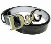 D&G ディー&ジー メンズベルト DC0446-1367 ブラック/シルバー ゴールドメッシュ ドルガバ