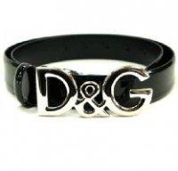 D&G ディー&ジー メンズベルト DC0624-E1038 80999 ブラック ドルガバ